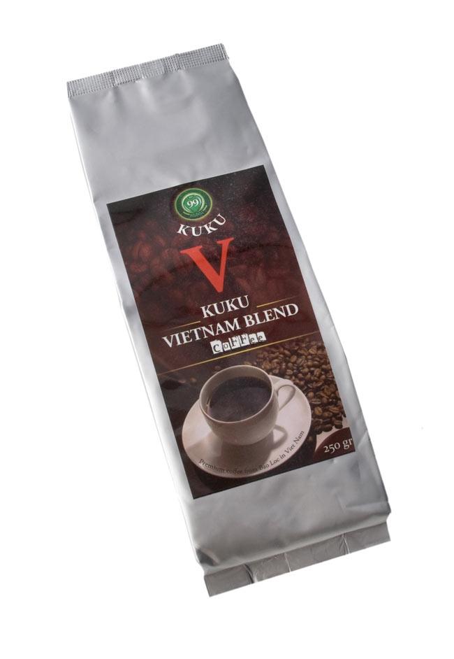 ベトナムコーヒーセット ベトナムブレンドの写真2 - ベトナム コーヒー ベトナムブレンド [250g] 【KUKU】の写真です