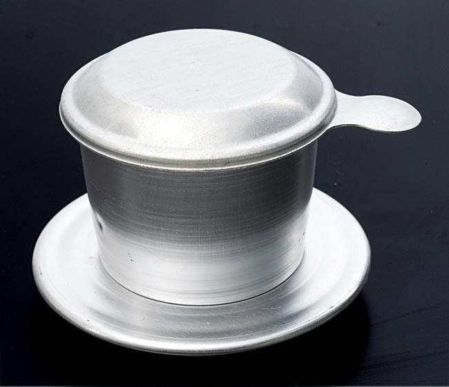 ベトナムコーヒーセット ベトナムブレンドの写真3 - ベトナム コーヒー フィルター 【アルミ製】の写真です