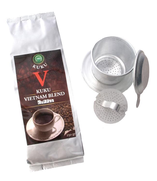 ベトナムコーヒーセット ベトナムブレンドの写真