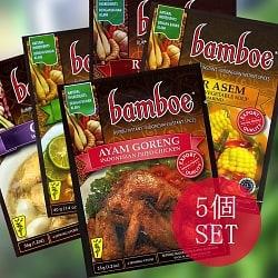 自由に選べる! インドネシア料理の素 5個セット