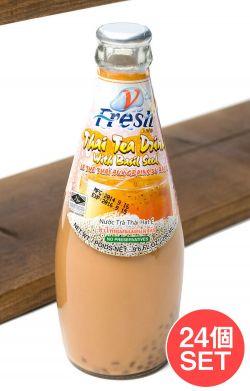 【24個セット】バジルシードドリンク 瓶 タイミルクティー味 【V-Fresh】