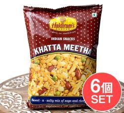 【6個セット】インドのお菓子 甘酸っぱいスナック - カッタミータ - KHATTA MEETHA