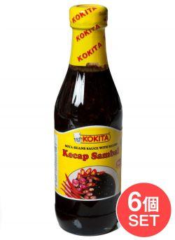 【6個セット】ケチャップ サンバル マイルド - Kecap Sambal Mild シーズニング醤油 【Kokita】