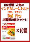 Dal Fry - 豆カレー 10個セット