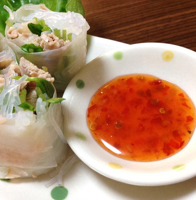 ヌクチャム−ベトナム春巻きのタレ 【Cholimex】 2 - ベトナム名物、生春巻きには、やっぱりヌクチャムです。