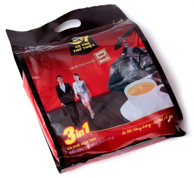 ベトナムインスタントコーヒー G7 コーヒー ミックス 3in1 20パック 【TRUNG NGUYEN】 2 - 箱が立派でリッチに見えます。