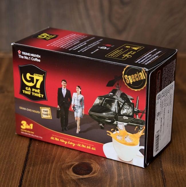 ベトナムインスタントコーヒー G7 コーヒー ミックス 3in1 20パック 【TRUNG NGUYEN】 6 - 裏面はこんな感じです