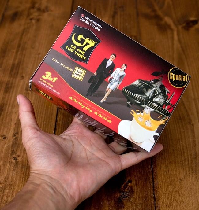 ベトナムインスタントコーヒー G7 コーヒー ミックス 3in1 20パック 【TRUNG NGUYEN】 7 - 結構大きなパッケージです
