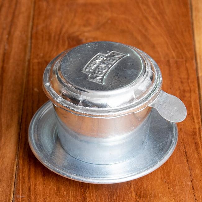 ベトナム コーヒー フィルター 【アルミ製】 3 - 全体写真です