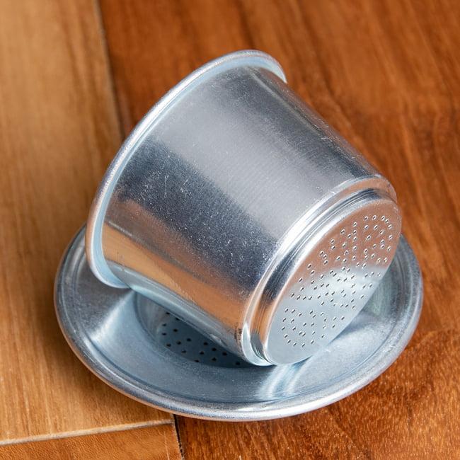 ベトナム コーヒー フィルター 【アルミ製】 7 - 胴体横からの写真です