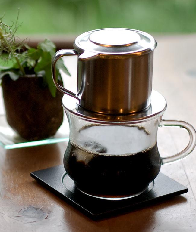 ベトナム コーヒー フィルター 【ステンレス製】の写真