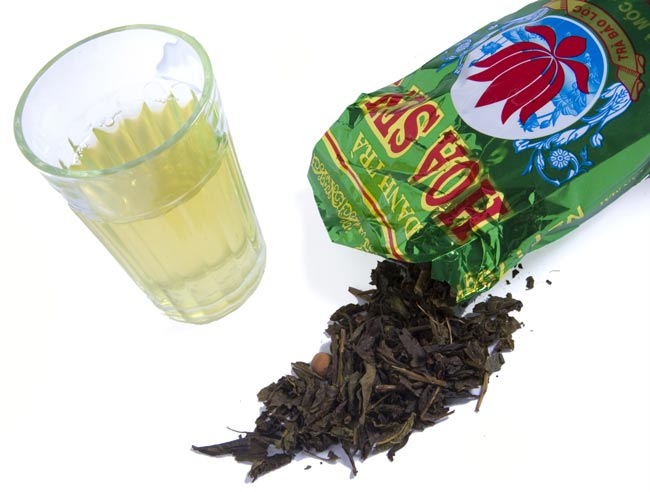 蓮茶 (蓮花茶) 茶葉タイプ 70g 【DANH TRA】 3 - イメージ