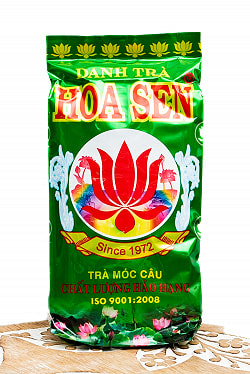 蓮茶 (蓮花茶) 茶葉タイプ 70g 【DANH TRA】