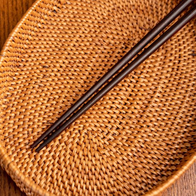 先が細いアジアン箸 3 - 先っぽの部分の拡大です