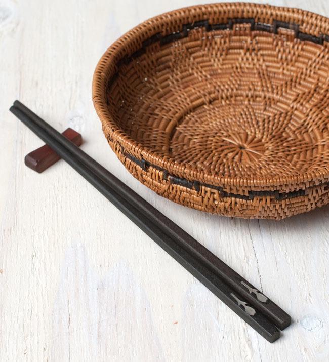 アジアの箸[花] 5 - アタカゴと一緒に