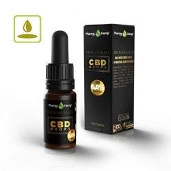 PharmaHemp 6.6%(660mg)CBD OIL DROP PREMIUM BLACK 10ml / プレミアムブラック CBD オイル フルスペクトラム