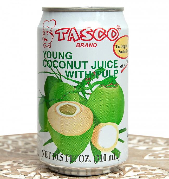 ココナッツジュース - YOUNG COCONUT JUICE WITH PULP[350ml]の写真