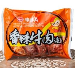 味味A 台湾ラーメン 香辣牛肉(辛口ビーフ)味 80g