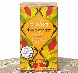 【PUKKA】three ginger - スリージンジャー - オーガニックハーブティー(カフェインフリー)