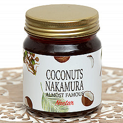 ココナッツの花の蜜を集めたココナツシロップ【Coconuts Nakamura】