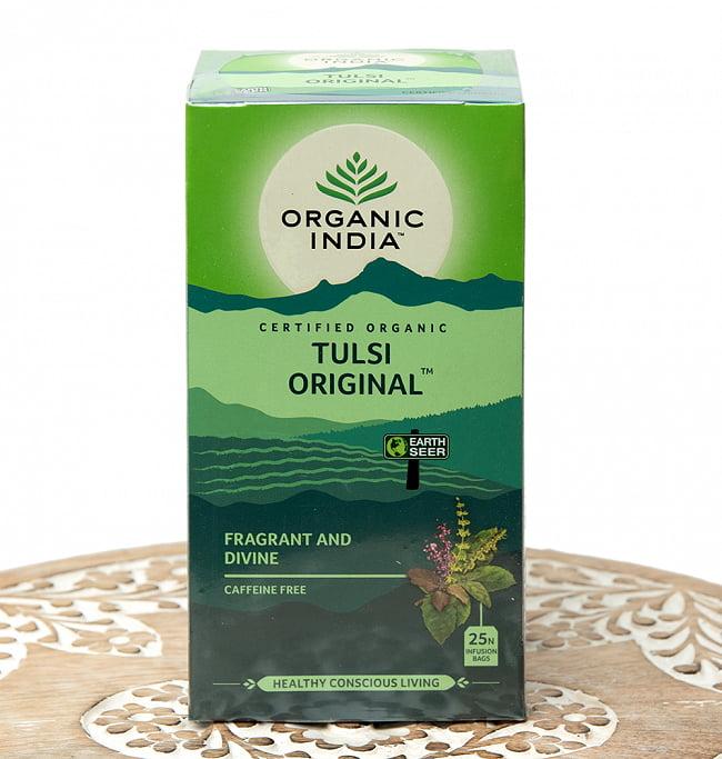 有機トゥルシーティ Tulsi Original  (25包) 【Organic India】の写真