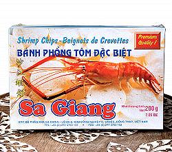 ベトナム 海老せんべい 200g  - ピリ辛[Sa Giang]