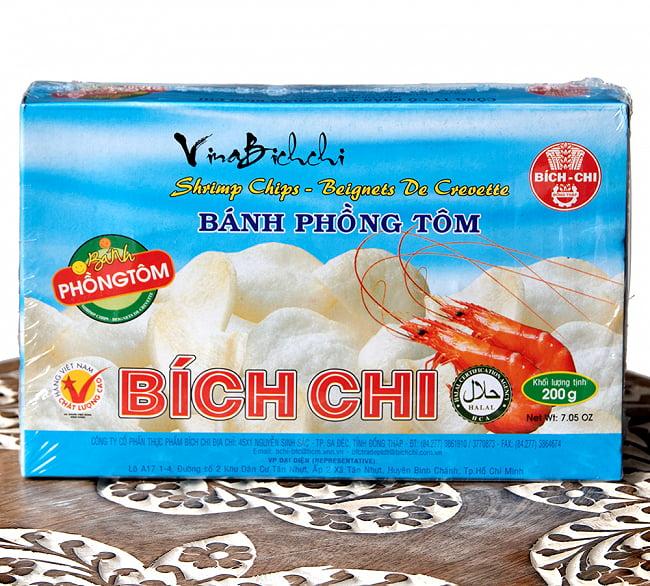ベトナム 海老せんべい 200g  - シンプル[Bich Chi]の写真