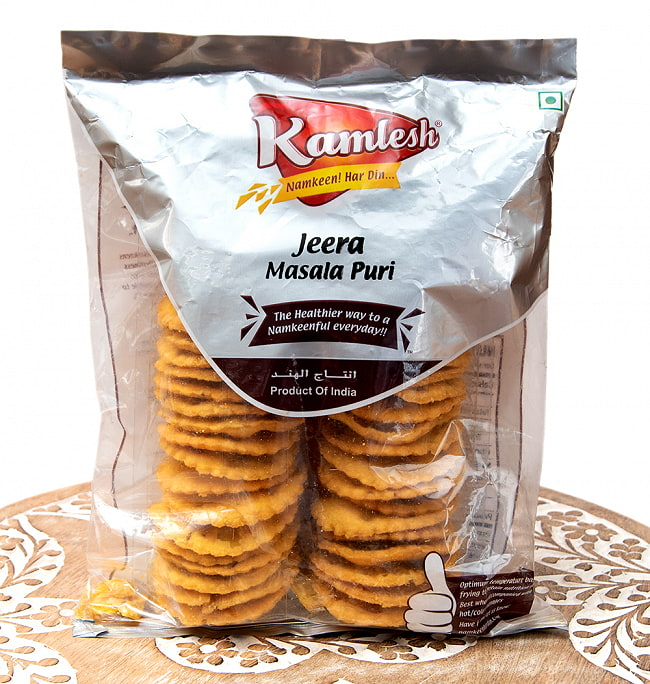 クミン味のビスケット - Jeera Masala Puri【Karnesh】 1