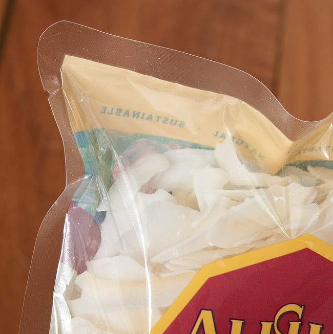 有機ココナッツチップス【ALISHAN】 3 - 中身をアップにしてみました