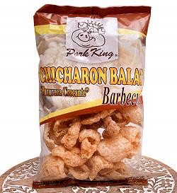 チチャロン バラット - 豚皮の唐揚げ  CHICHARON BALAT Barbecue 【Pork King】