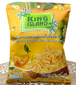 ココナッツチップス - マンゴー味 40g 【KING ISLAND】の商品写真