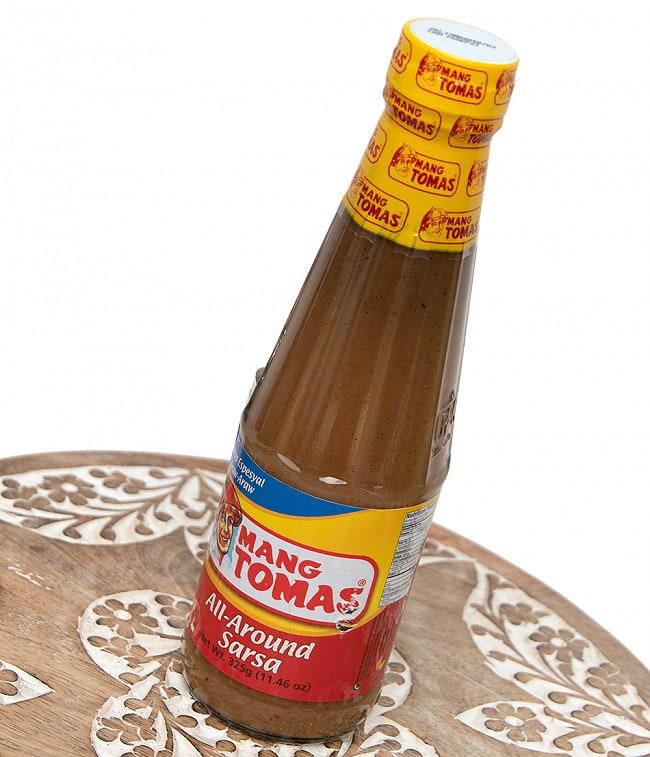 MANG TOMAS - フィリピンの万能ソース 325g 3 - 斜めから