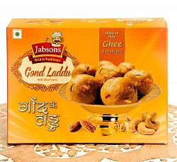 インドのお団子スイーツ - ゴンド・ラッドゥ - GOND LADDU with Dry Fruits[Jabsons]