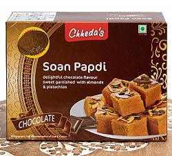 インドのお菓子  ソーン パブディ チョコレート味 - SOAN PAPDI CHOCOLATE[Cheeda