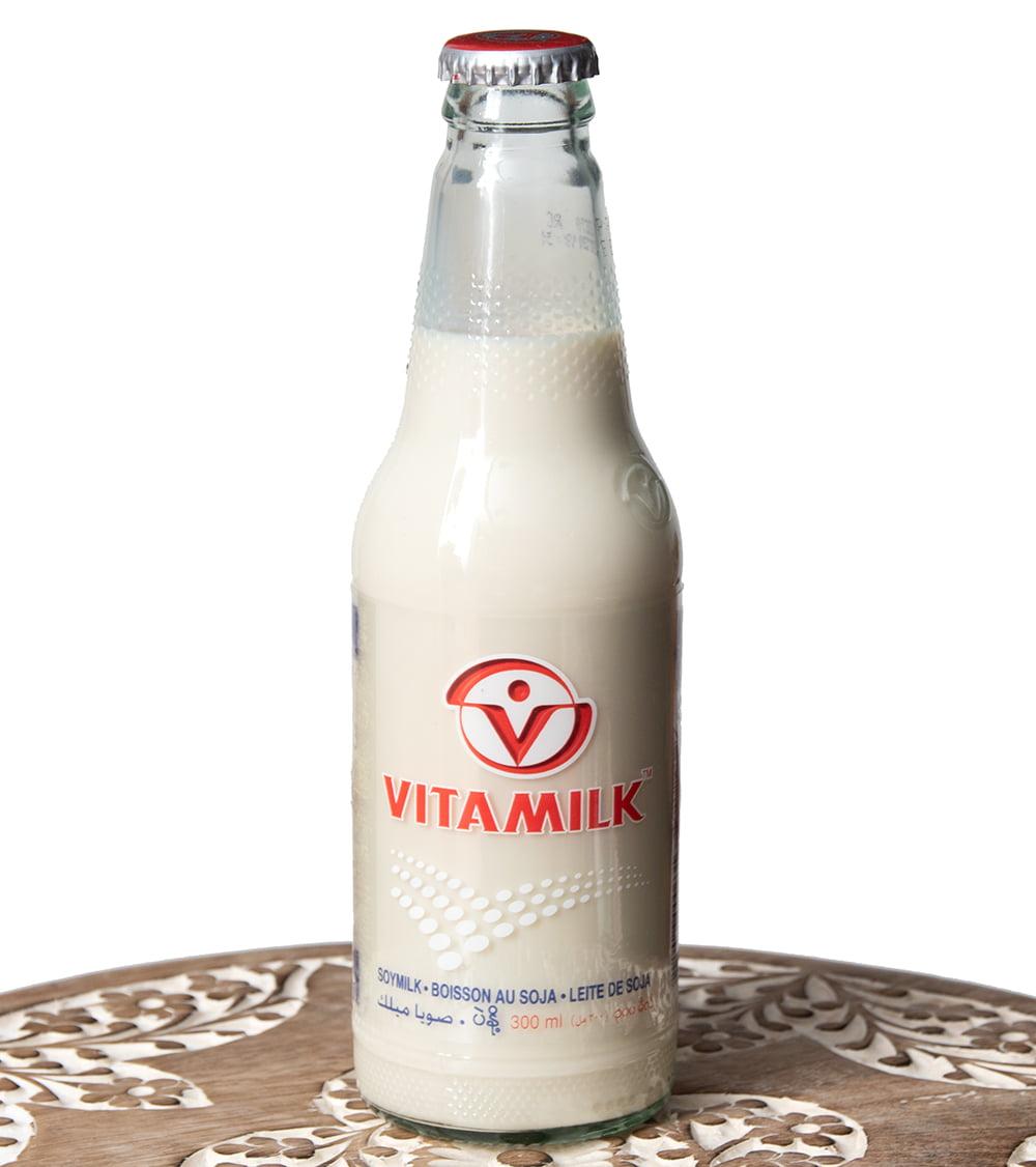 豆乳 VITAMILK (バイタミルク) 瓶入り[300ml]の写真