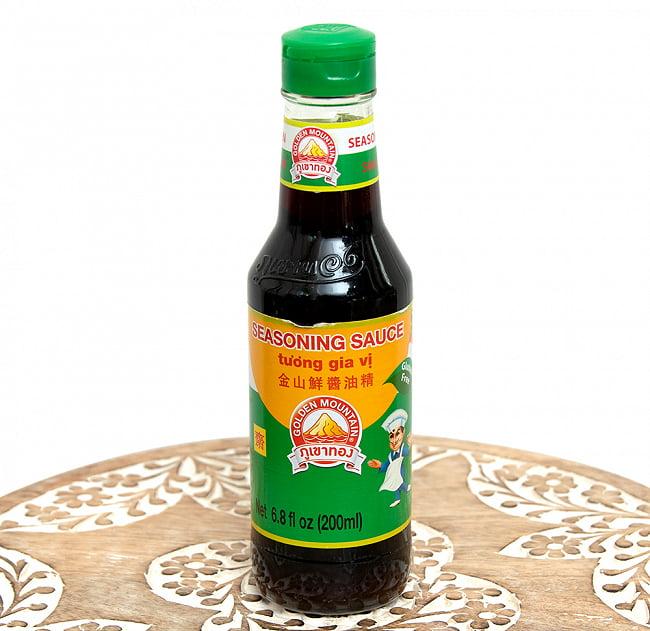 シーズニングソース  - 金山鮮醤油精[200ml][Golden Mountain]の写真