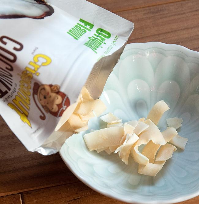 ココナッツチップス  - COCONUTS CHIPS 40g 5 - 中身を出してみました