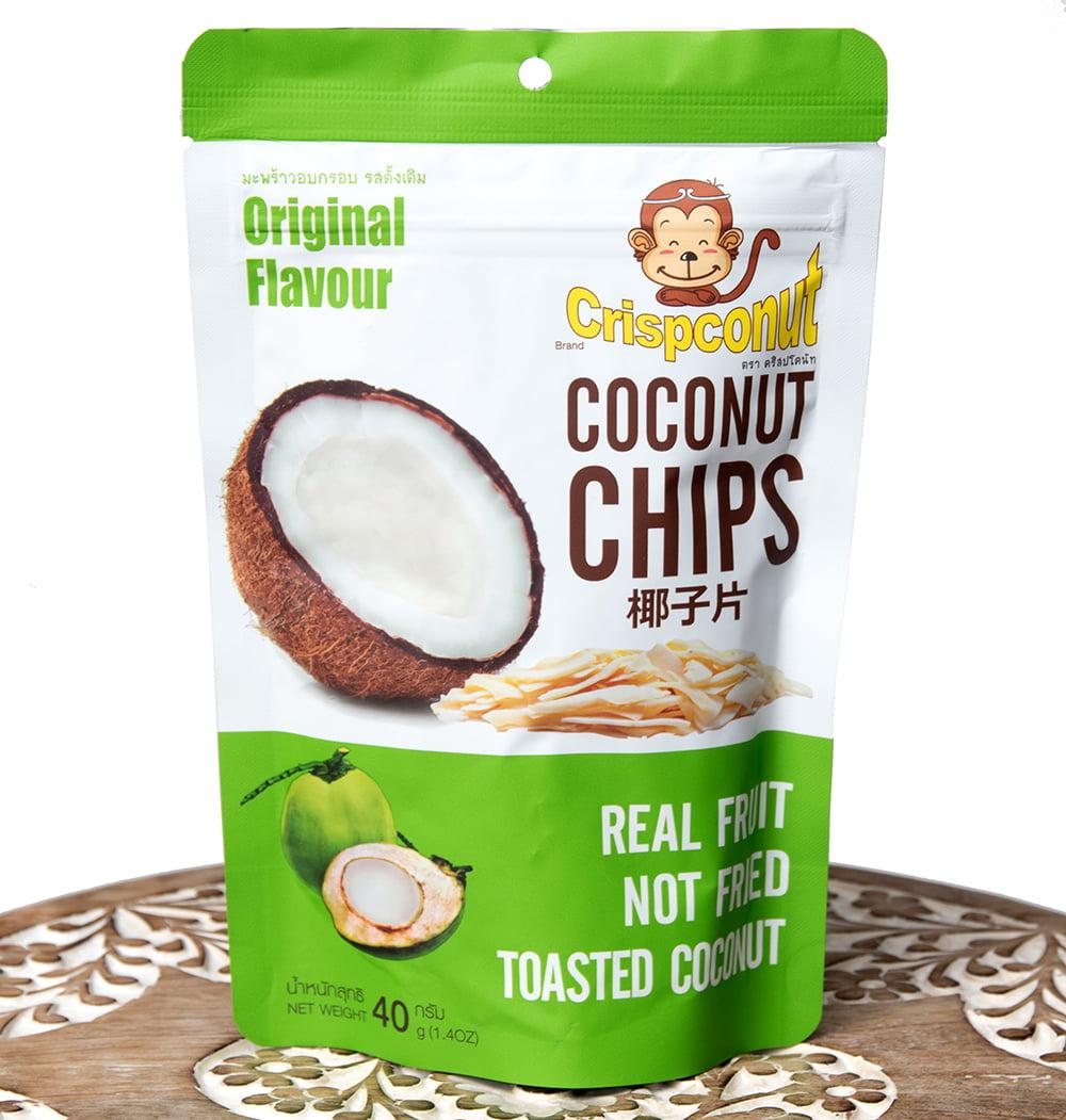 ココナッツチップス  - COCONUTS CHIPS 40gの写真