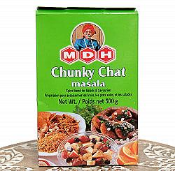 チュンキー チャット マサラ  スパイス ミックス - Chunky Chat Masala - 500g 大サイズ 【MDH】