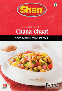 チャナ チャート(Chana Chaat) スパイス ミックス - 50g 【Shan】の商品写真