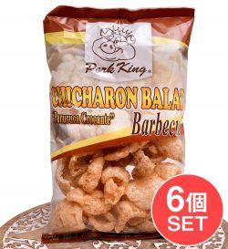 【6個セット】チチャロン バラット - 豚皮の唐揚げ  CHICHARON BALAT Barbecue 【Pork King】