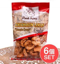 【6個セット】チチャロン ラマン - 豚皮の唐揚げ  CHICHARON LAMAN Regular 【Pork King】