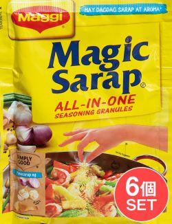 【6個セット】Magic Sarap - マジックサラップ オールインワン調味料 グラニュール  【Maggi】