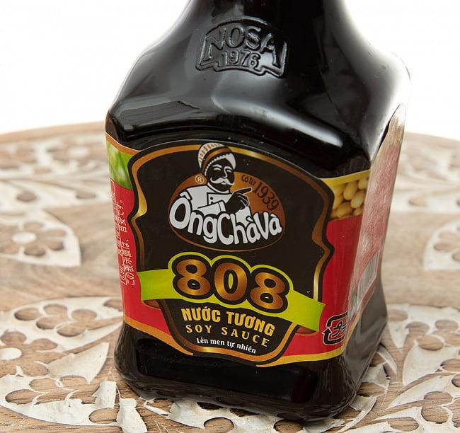 オンチャバ 808 ソイソース 200ml - ベトナムの醤油[OngChava] 2 - ラベルをアップにしました