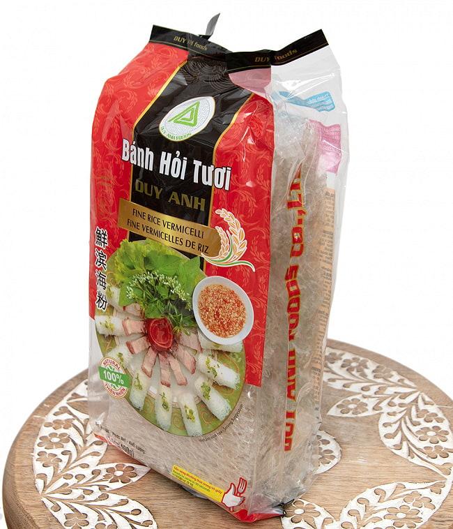 バンホイ Banh Hoi ベトナムビーフン/越南米粉 網型 400g 2 - 斜めから