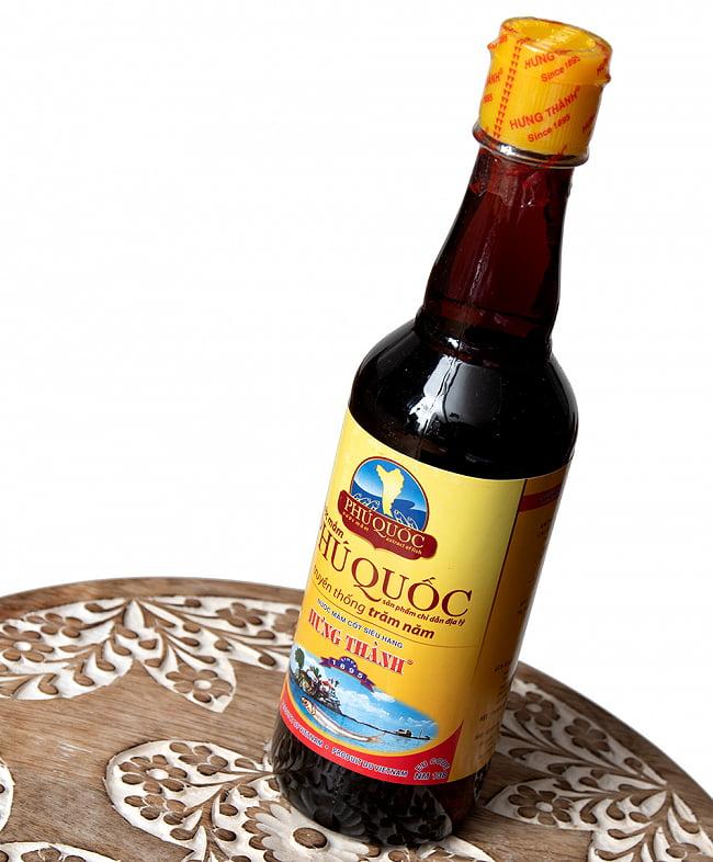 ニョクマム 500ml - フーコック島産 高品質 【HungThanh】 2 - 最近では珍しい樽仕込みの本格派です。色も香りも素晴らしいです。