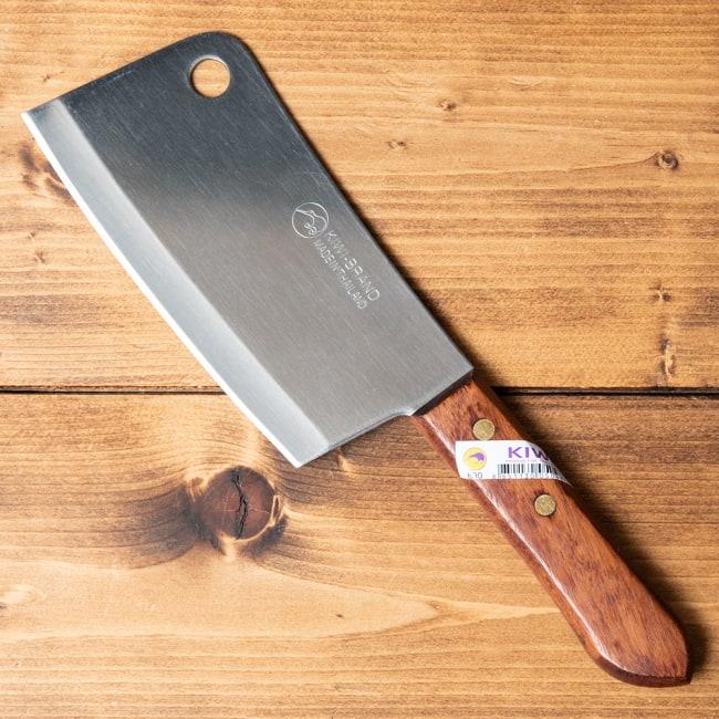 タイのチョッパーナイフ【KIWIブランド】 - Sサイズ 2 - 全体の様子です。