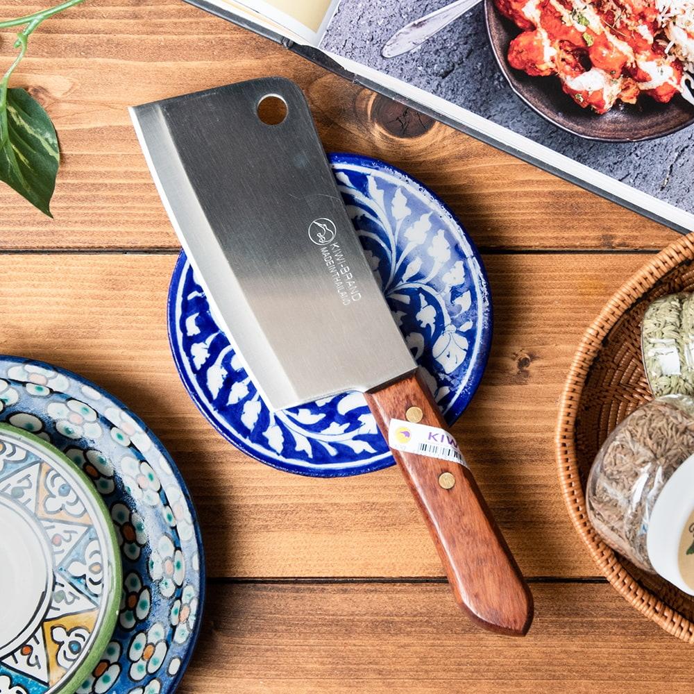 タイのチョッパーナイフ【KIWIブランド】 - Sサイズの写真
