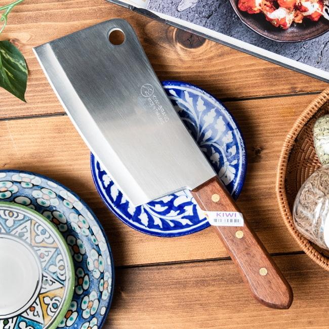 タイのチョッパーナイフ【KIWIブランド】 - Mサイズの写真