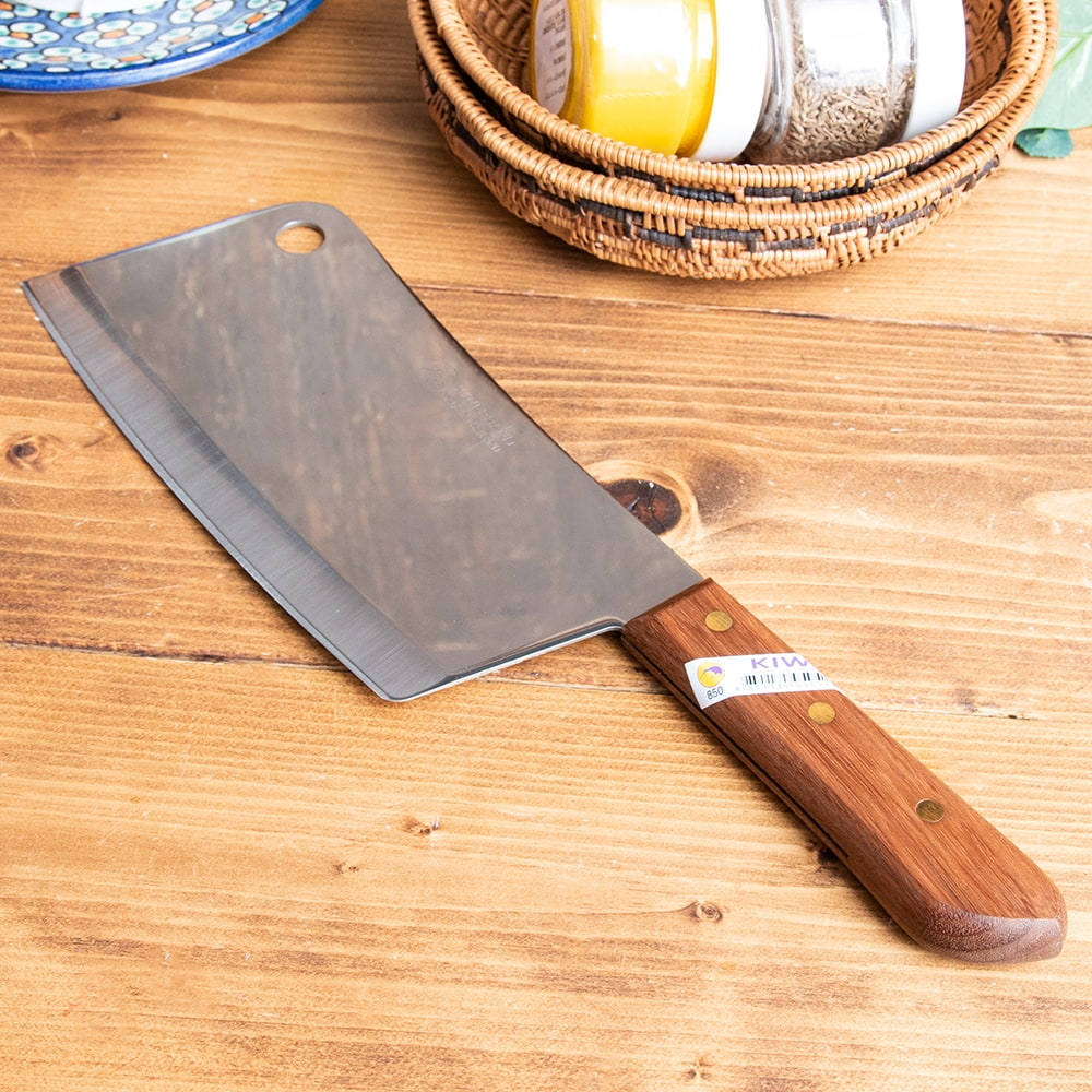 タイのチョッパーナイフ【KIWIブランド】 - Lサイズ 2 - 全体の様子です。